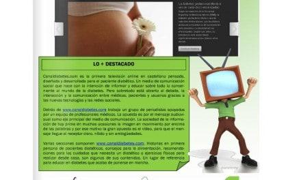 Canal Diabetes protagonista en la revista en3d