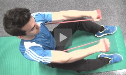 Deporte en casa para diabéticos: biceps y triceps