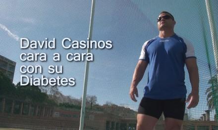David Casinos cara a cara con su diabetes