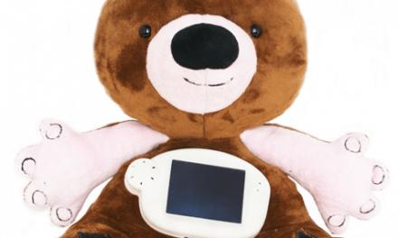 Jerry el oso con diabetes que ayuda a los niños