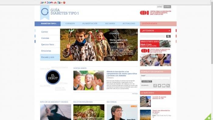 El CIDI estrena web especializada en diabetes infantil
