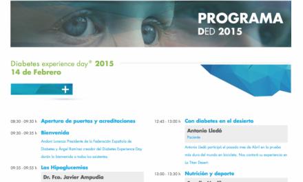 El Diabetes Experience Day 2015 publica su programa