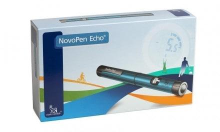 NovoPen Echo el primer dispositivo de administración de insulina para niños