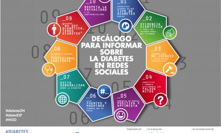 Primer decálogo sobre el manejo de la Diabetes en las Redes Sociales