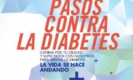 Suma pasos contra la diabetes