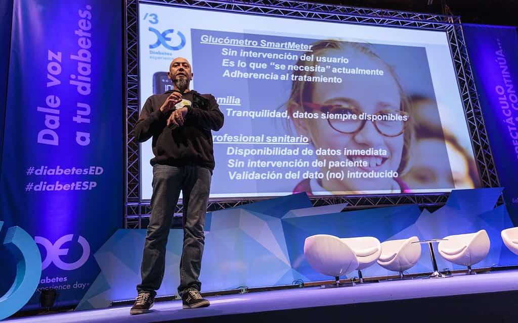 Victor Bautista y la diabetes en el smartphone