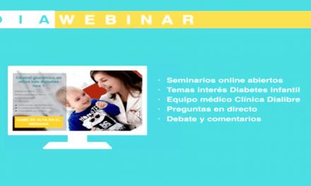 2º Diawebinar sobre tecnología y diabetes infantil