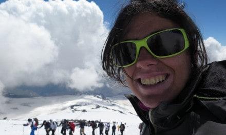 El sueño del Elbrus continúa para Susana Mostazo