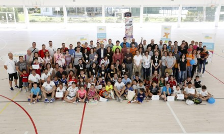 300 personas unidas por baloncesto y diabetes