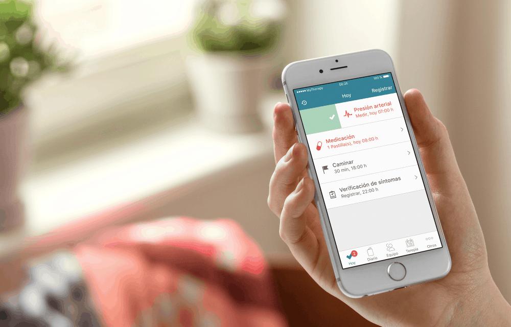 MyTherapy una app para recordarte tu tratamiento médico