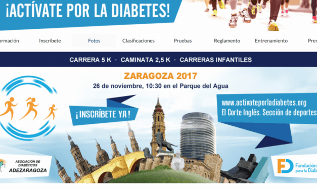 ¡Actívate por la Diabetes, Zaragoza!