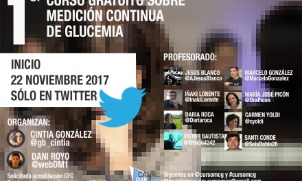 Arranca el primer curso sobre medición continua de glucemia en Twitter