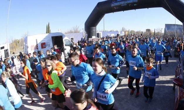 Zaragoza sale a correr por la diabetes