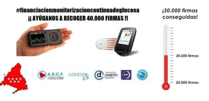 Diabetes Madrid pide la financiación de todas las tecnologías de MCG