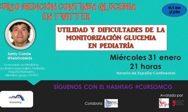Capítulo 8: Medición continua de glucosa en pediatría