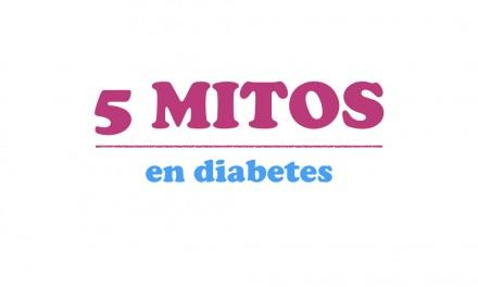 5 mitos sobre la diabetes y su explicación real