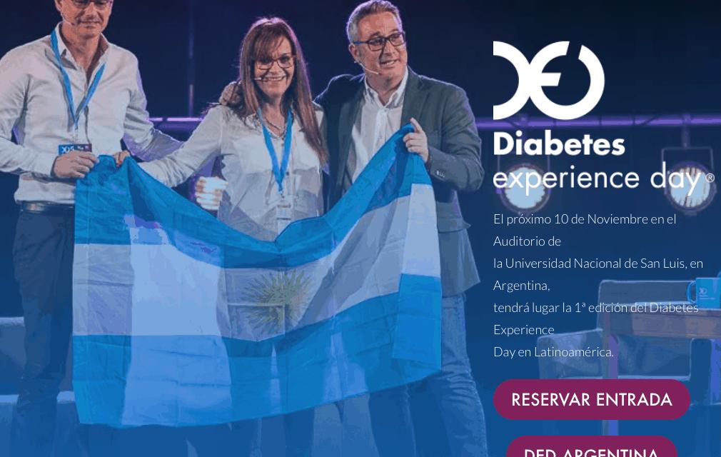 Arranca el Diabetes Experience Day Argentina