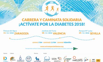 Llegan las carreras solidarias por la diabetes
