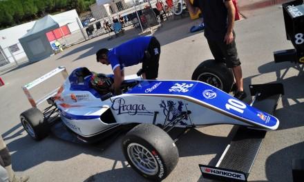 La primera carrera de Kilian en Fórmula 4