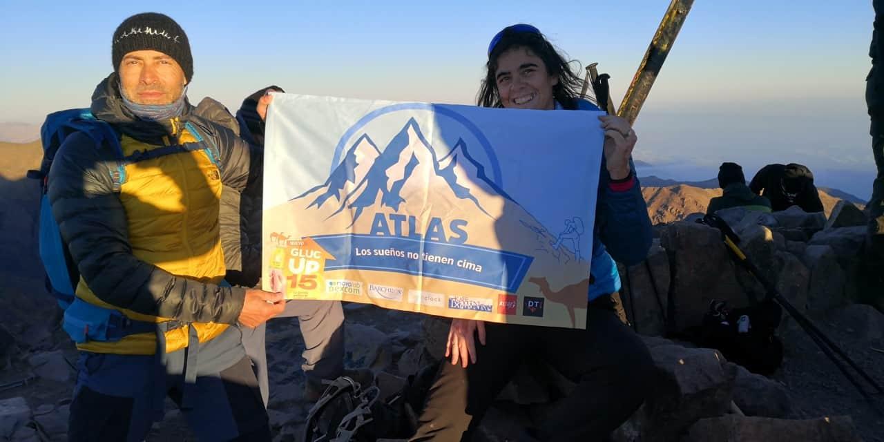 Susana Ruiz asciende el Toubkal, techo del norte de Africa
