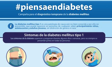 Canal Diabetes apoya la campaña #piensaendiabetes