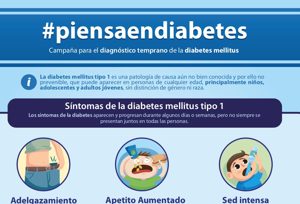 diabetes tipo 1 en adultos síntomas de diagnóstico