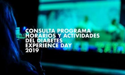 Consulta los horarios y actividades del Diabetes Experience Day 2019