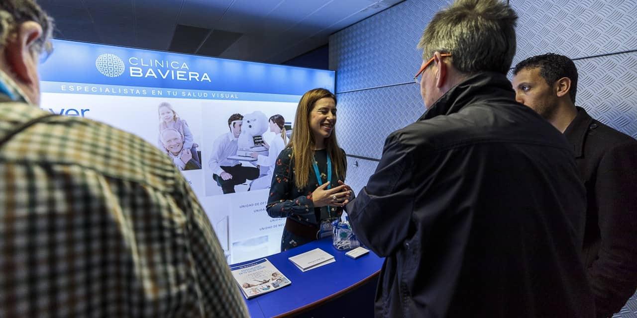 Clinica Baviera fomenta la salud visual en el Diabetes Experience Day