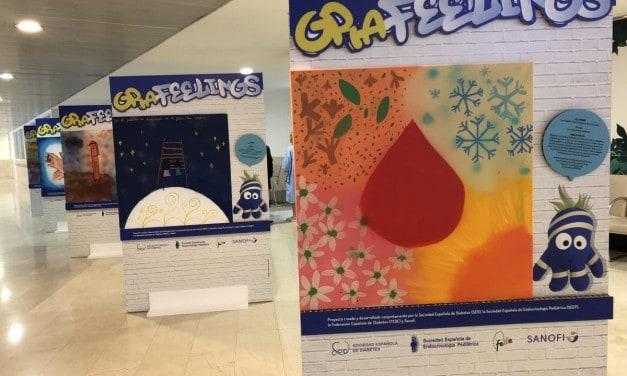 La exposición GRAfeelings se podrá visitar durante la celebración de Diabetes en Directo