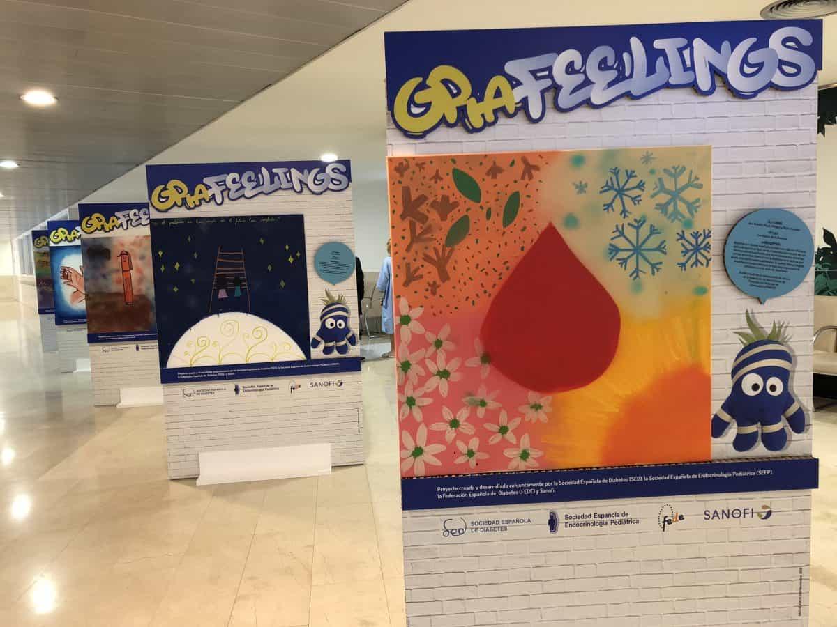 f6201697c5 La exposición GRAfeelings se podrá visitar durante la celebración de  Diabetes en Directo - Canal Diabetes