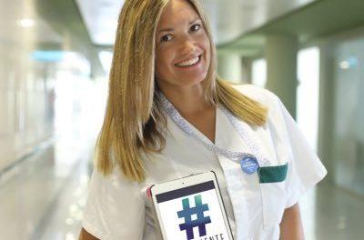 Teresa Pérez, una enfermera que nos cuida en la red