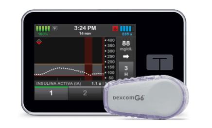 La bomba de insulina slim X2 con Control-IQ demuestra mayor tiempo en rango