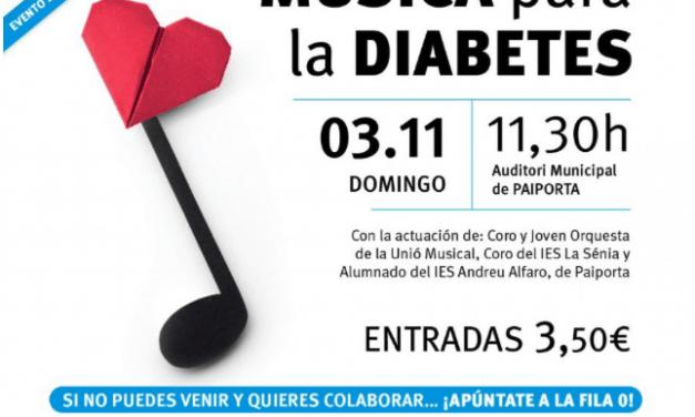 Concierto benéfico por la diabetes tipo 1 en Paiporta