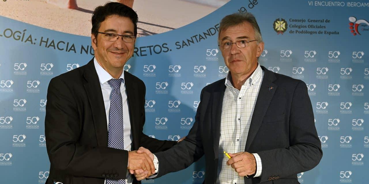 FEDE y CGCOP firman un convenio para la prevención del pie diabético