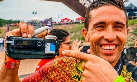 Alejandro Samper reta su diabetes en la Spartan Race
