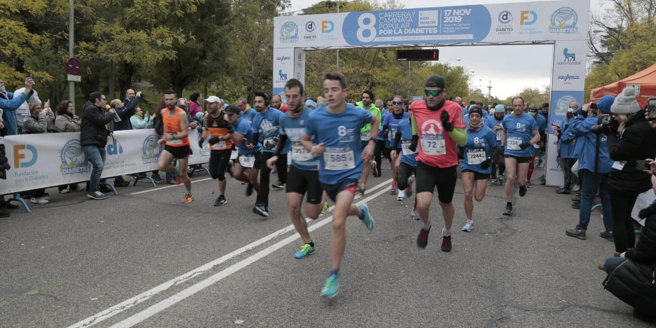 Madrid corre por la diabetes
