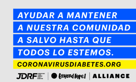 Canal Diabetes con la Alianza JDRF – Beyond Type 1 frente al Covid-19