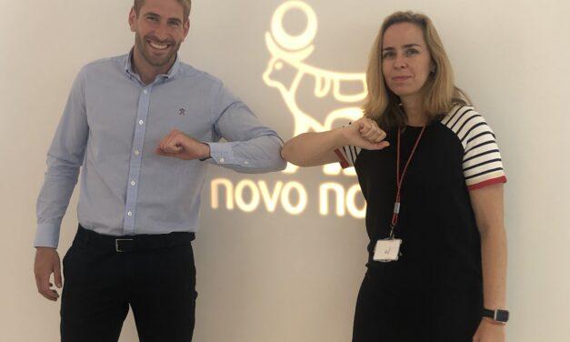 Álex Ruiz y Novo Nordisk, de la mano por y para las personas con diabetes